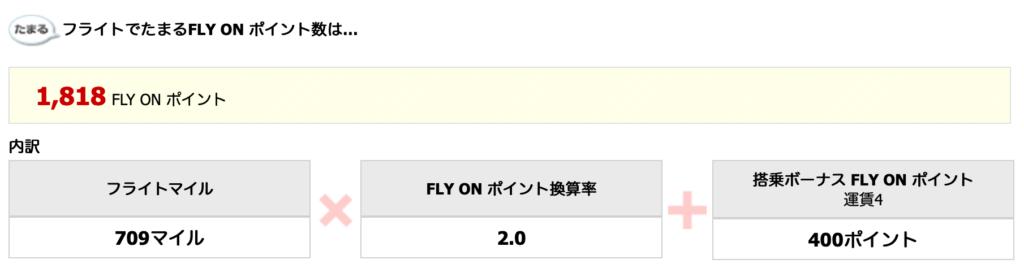 羽田-福岡、ファーストクラス、運賃4のFOP